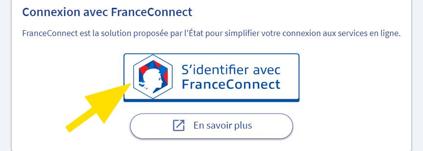 Se connecter avec son compte FranceConnect