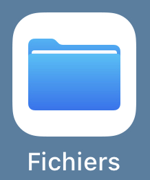 Application Fichiers iPhone